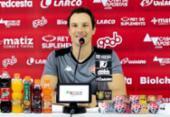 Bruno Pivetti ressalta comprometimento dos jogadores após vitória contra Oeste | Foto: Letícia Martins | E.C.Vitória