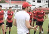 Pivetti comanda treino em três etapas na Toca do Leão | Foto: Letícia Martins | EC Vitória