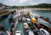 Motoristas enfrentam mais de 2h de espera na fila do ferryboat | Foto: Jóa Souza | Ag A TARDE | Arquivo