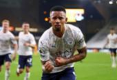 Com gol de Jesus, City estreia na Premier League vencendo o Wolverhampton | Foto: Marc Atkins | AFP