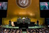 Brasil volta ao Conselho de Segurança da ONU após 10 anos | Foto: Johannes Elisele | AFP