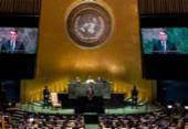 Discurso na ONU mostrará 'realidade' sobre o Brasil, diz Bolsonaro | Foto: Johannes Elisele | AFP