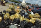Mais de duas toneladas de lixo são recolhidas em praias de Ilhéus e Porto Seguro | Foto: Divulgação | CBMBA