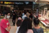 Saraiva fica lotada após anunciar fechamento das lojas em Salvador | Foto: Cidadão Repórter