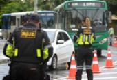 Mais de 30 CNHs são retidas na volta das blitze da Lei Seca | Foto: Divulgação | Transalvador
