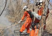 Bombeiros combatem novo foco de incêndio em Barra   Divulgação   CBMBA