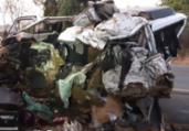 Batida entre caminhão e van deixa 12 mortos em MG | Divulgação | PRF