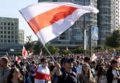 Milhares protestam contra Lukashenko em Belarus | AFP