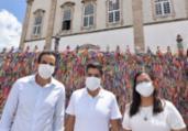 Ao lado de ACM Neto, Bruno Reis abre campanha no Bonfim | Divulgação