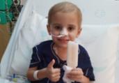 Após campanha, criança com leucemia encontra doador | Divulgação
