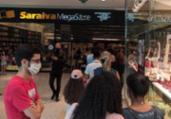 Saraiva fica lotada após anunciar fechamento de lojas | Cidadão Repórter