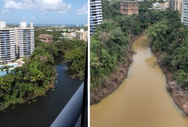 Moradores buscam explicação sobre água barrenta em lagoa do Alphaville | Cidadão Repórter | A TARDE