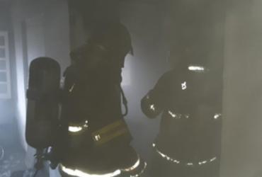 Incêndio atinge residência no bairro do Rio Vermelho | Foto: Divulgação