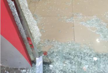 Tentativa de roubo a carro-forte termina em morte no bairro de Periperi | Reprodução | WhatsApp