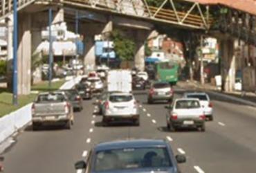 Atropelamento na avenida Bonocô deixa transito congestionado |