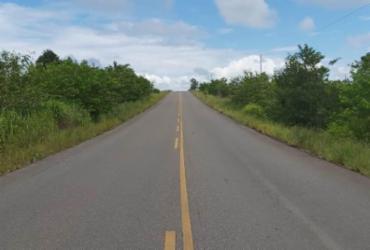 Rodovia estadual entre Itanhém e Teixeira de Freitas será restaurada
