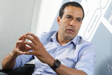 Bruno Reis abocanhou a fatia maior do tempo de rádio e tevê   Raul Spinassé   Ag. A TARDE   8.1.2020