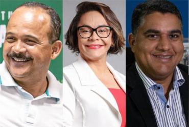 Prefeito lidera com 47% das intenções de voto na pesquisa A TARDE | Montagem | A TARDE