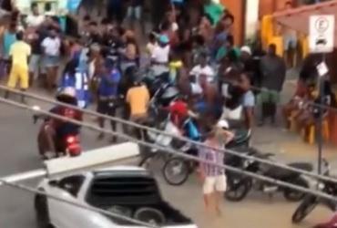 Aglomerações em primeiro dia de campanha eleitoral ligam sinal de alerta | Reprodução | TV Bahia