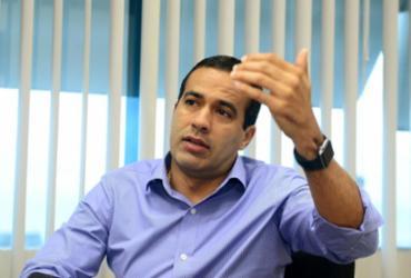 O candidato do DEM, Bruno Reis, defende trabalho da prefeitura de Salvador - Divulgação