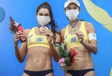 Ao ganhar medalha no vôlei de praia, Carol Solberg diz 'Fora, Bolsonaro' | Foto: Wander Roberto | Inovafoto | CBV