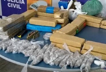 Mais de 20 kg de maconha são apreendidos em Itabuna
