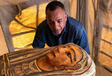 Descobertos 14 sarcófagos de 2.500 anos no Egito | Egyptian Ministry of Antiquities | AFP