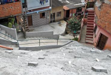 Governo do Estado entrega obra de encosta no bairro do IAPI | Carol Garcia | GOVBA