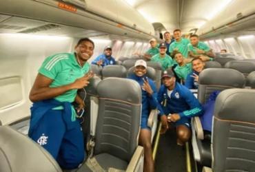 Após publicar foto sem máscara em avião, funcionário do Flamengo é demitido | Divulgação | Flamengo