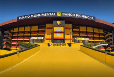 Estádio do Barcelona é interditado e jogo do Flamengo deve ser adiado   Divulgação