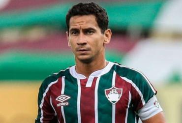 Meia Ganso, do Fluminense, testa positivo para Covid-19 | Foto: Lucas Merçon | Fluminense