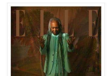 Elle Brasil reestreia versão impressa com Gilberto Gil na capa |