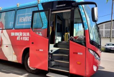Unidade móvel do Hemoba chega a Lauro de Freitas nesta terça