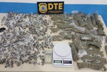 Homem é preso com mais de 700 trouxas de maconha em Feira de Santana
