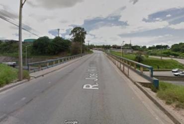 Homem é encontrado morto em viaduto no bairro de Valéria | Reprodução | Google Street View