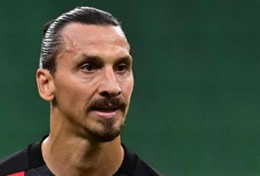 "Ibrahimovic testa positivo para Covid-19 e brinca: ""Teve coragem de me desafiar"" | Miguel Medina | AFP"