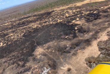 Bombeiros percorrem área e avaliam gravidade de incêndio em Barra