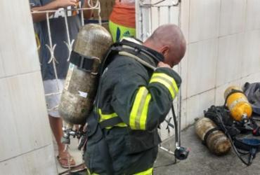 Incêndio atinge residência no bairro do IAPI | Divulgação | Corpo de Bombeiros