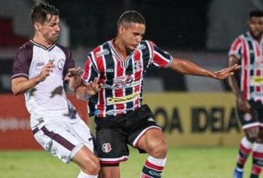 Em jogo de seis gols, Jacuipense empata com Santa Cruz em Recife | Rafael Melo | SCFC