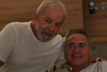 Lula quebra quarentena e visita Renan no hospital em São Paulo   Foto: Reprodução