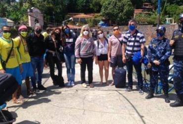 Morro de São Paulo e Boipeba receberam primeiros turistas desde início da pandemia nesta quinta-feira | Divulgação