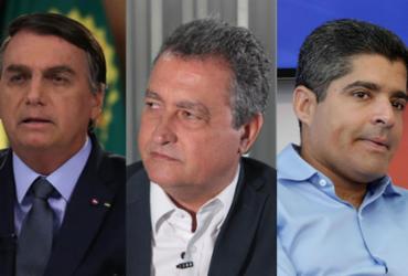 A TARDE/Potencial Pesquisa: ACM Neto e Rui Costa são os melhores cabos eleitorais | AFP | Marcos Correa / PR, Camila Souza | Gov-BA e Adilton Venegeroles | Ag. A TARDE