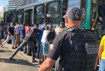 Cerca de 40 ônibus são abordados durante operação em Salvador | Divulgação | Ascom-PC