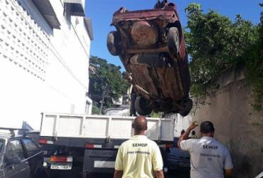 Operação Sucata retira 35 veículos abandonados em Salvador | Foto: Divulgação