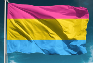 Bandeira que representa o movimento pansexual   Foto: Reprodução   Instagram - Reprodução   Instagram