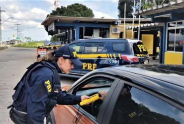 Ao fugir de blitz, motorista embriagado quase atropela crianças | Divulgação | PRF