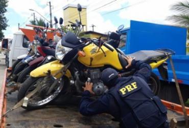Operação Cavalo de Aço prende homem com moto roubada e sem habilitação em Itabuna