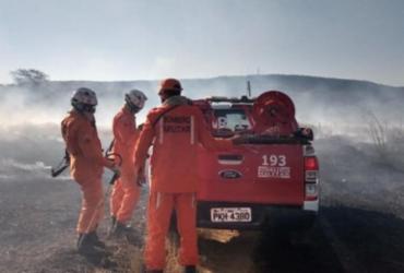 Incêndio florestal em Barra está próximo de ser controlado