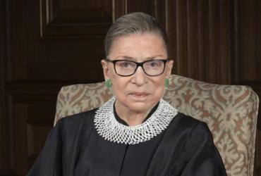 Juíza mais antiga da Suprema Corte dos EUA, Ruth Bader Ginsburg, morre aos 87 anos | Foto: Divulgação