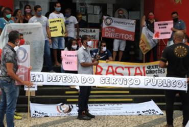 Servidores de São Francisco do Conde cobram direitos trabalhistas | Divulgação | Sindsefran
